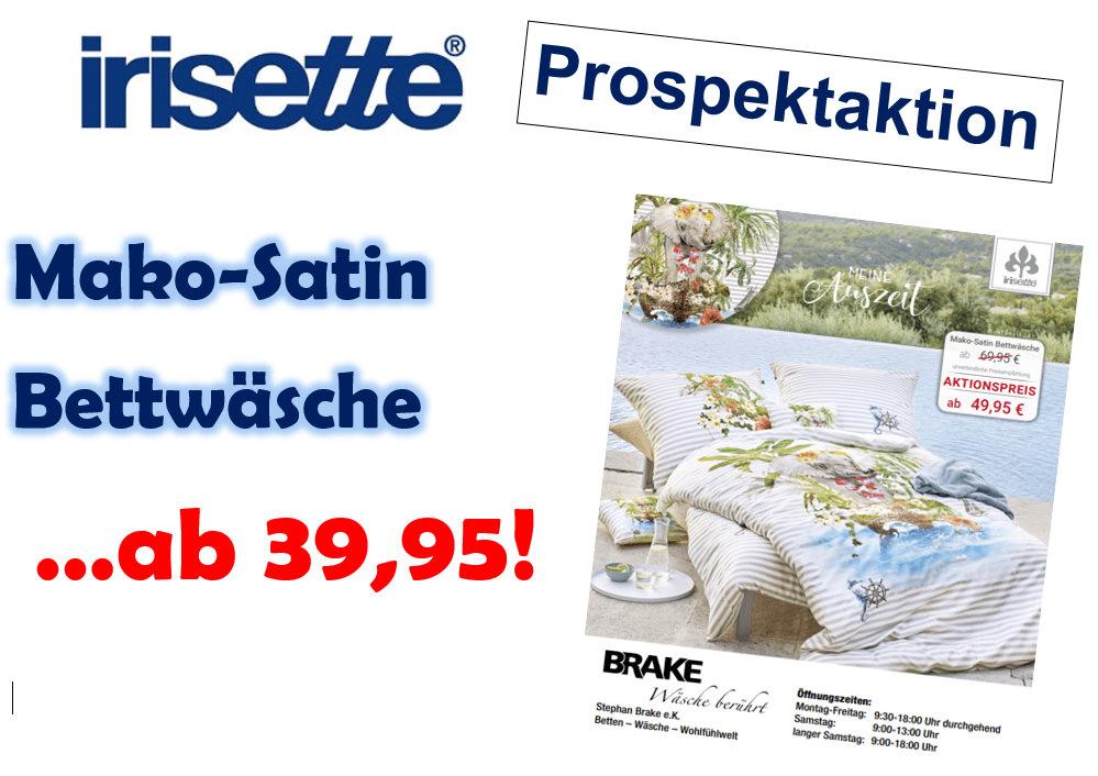 Irisette-Prospekt Aktion